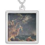 The Tempest, c.1762 Silver Plated Necklace
