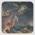 The Tempest, c.1762 Square Sticker