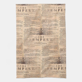 The Tempest Shakespeare Play Kitchen Towel