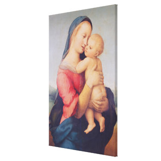 The 'Tempi' Madonna, 1508 Canvas Print