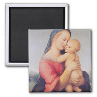 The 'Tempi' Madonna, 1508 Square Magnet