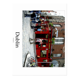 The Temple Bar, Dublin, Ireland Postcard