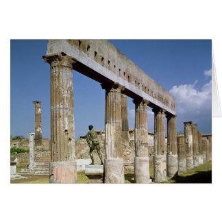 The Temple of Apollo Card