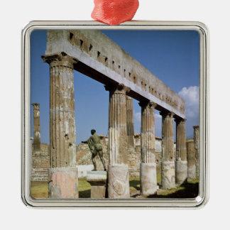 The Temple of Apollo Christmas Ornament