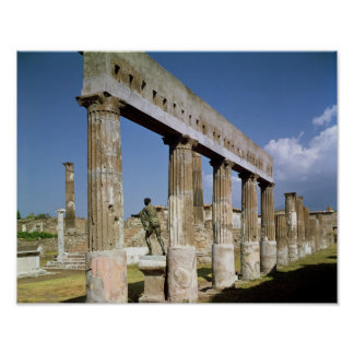 The Temple of Apollo Poster