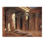 The Temple of Isis on Philae island Vasily Polenov Postcard