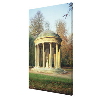 The Temple of Love in the Parc du Petit Canvas Print