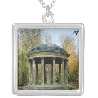 The Temple of Love in the Parc du Petit Silver Plated Necklace