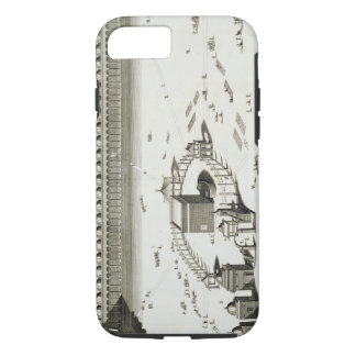 The Temple of Mecca (engraving) iPhone 8/7 Case