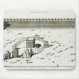 The Temple of Mecca (engraving) Mouse Mat