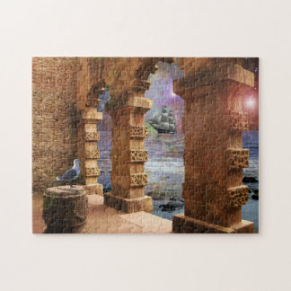 The Temple of Poseidon Jigsaw Puzzle
