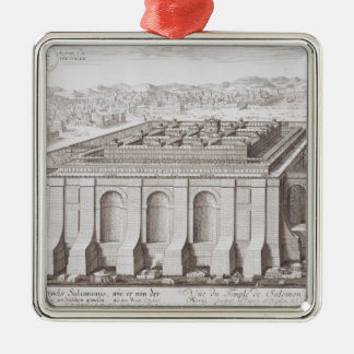 The Temple of Solomon, Jerusalem, from 'Entwurf ei Christmas Ornament