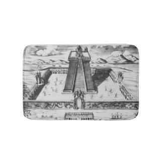 The Templo Mayor at Tenochtitlan Bath Mat