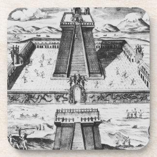 The Templo Mayor at Tenochtitlan Coaster