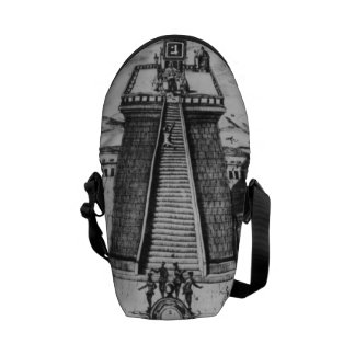 The Templo Mayor at Tenochtitlan Courier Bags