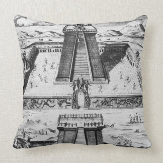 The Templo Mayor at Tenochtitlan Pillow