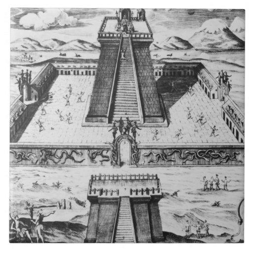 The Templo Mayor at Tenochtitlan Tiles