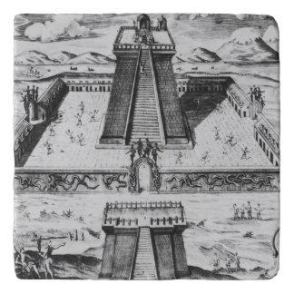 The Templo Mayor at Tenochtitlan Trivet