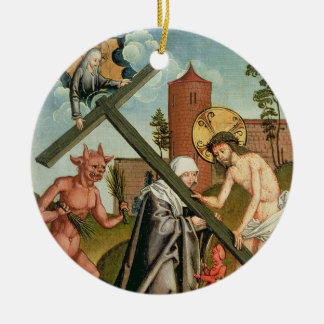 The Temptation of a Saint Christmas Ornament