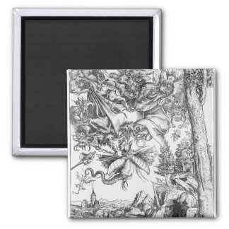 The Temptation of St.Anthony, 1506 Square Magnet
