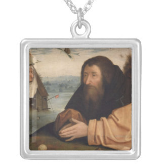 The Temptation of St. Anthony 2 Silver Plated Necklace