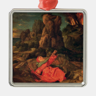 The Temptation of St. Anthony, c.1530 Christmas Ornament