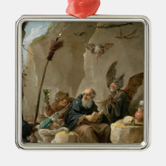 The Temptation of St. Anthony Christmas Ornament