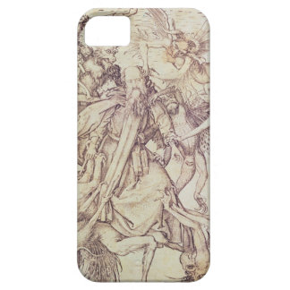 The Temptation of St. Anthony (engraving) iPhone 5 Cases