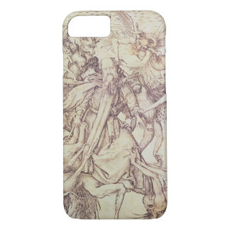 The Temptation of St. Anthony (engraving) iPhone 8/7 Case