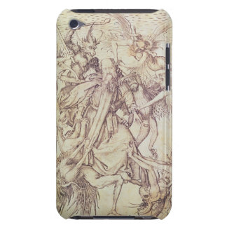 The Temptation of St. Anthony (engraving) iPod Touch Case