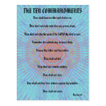 "The Ten Commandments ""Outward Expressions"" Post Cards"
