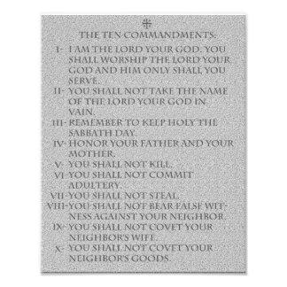 The Ten Commandments Photograph