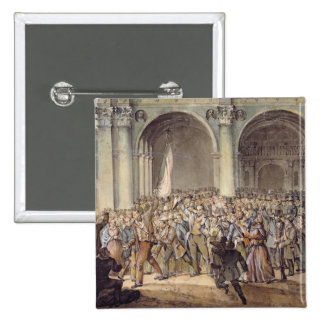 The Ten days of Brescia, after 1849 15 Cm Square Badge