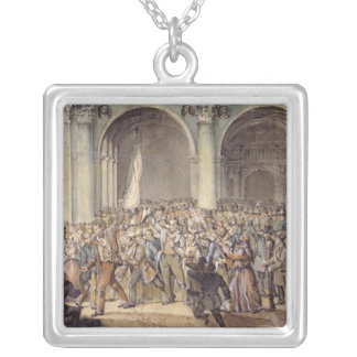 The Ten days of Brescia, after 1849 Silver Plated Necklace
