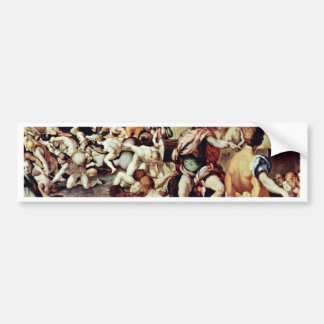 The Ten Thousand Martyrs By Pontormo Jacopo Bumper Sticker