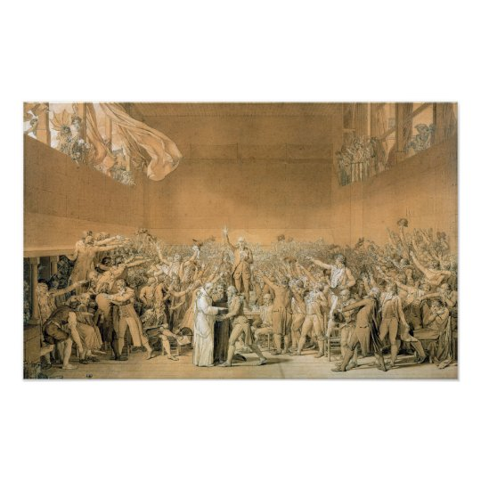 The Tennis Court Oath, 20th June 1789, 1791 2 Poster