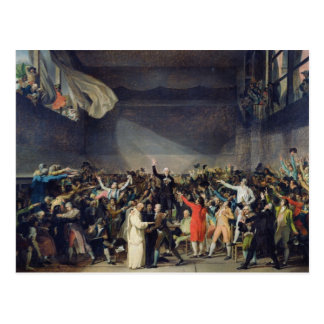 The Tennis Court Oath, 20th June 1789, 1791 Postcard