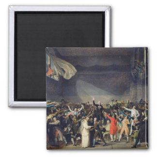 The Tennis Court Oath, 20th June 1789, 1791 Square Magnet