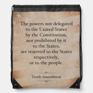 The Tenth Amendment Rucksacks