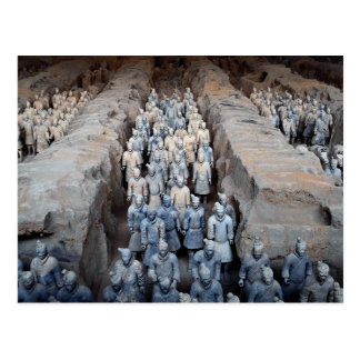 The Terra-cotta Warriors Xi an China Post Cards