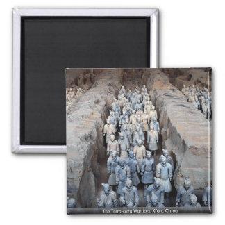The Terra-cotta Warriors, Xi'an, China Magnet