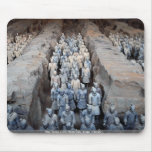 The Terra-cotta Warriors, Xi'an, China Mouse Pad