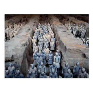 The Terra-cotta Warriors, Xi'an, China Postcard