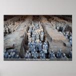 The Terra-cotta Warriors, Xi'an, China Print