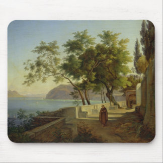 The Terrace of the Capucins in Sorrento, 1828 Mouse Pad