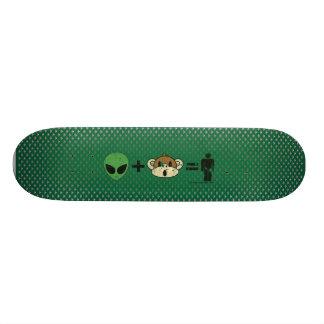 The Terrestrial Freewill Project Custom Skate Board