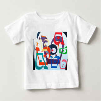 The Teth Letter - hebrew alphabet Baby T-Shirt