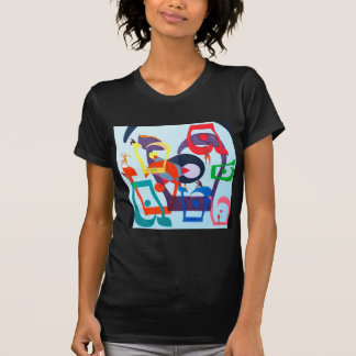 The Teth Letter - hebrew alphabet T-shirts