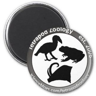 THE TETRAPOD ZOOLOGY LOGO 6 CM ROUND MAGNET