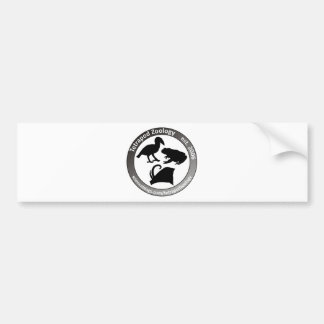 THE TETRAPOD ZOOLOGY LOGO CAR BUMPER STICKER